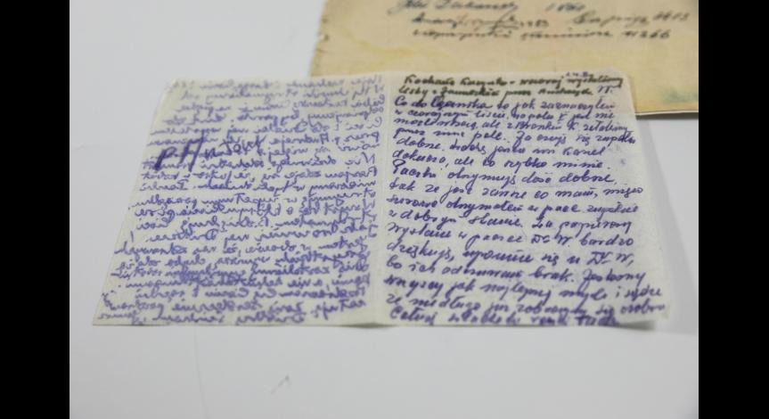 Grypsy do Antoniny Grygowej w zbiorach muzeum