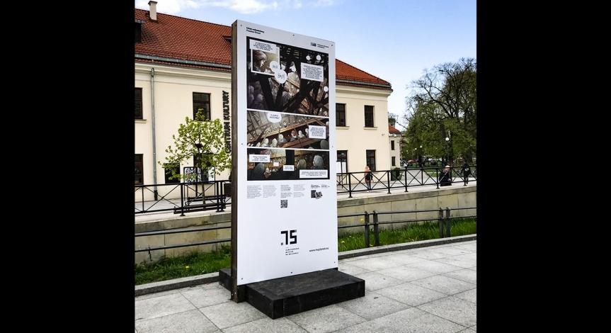 """Powiększ obraz: Wystawa """"Chleb wolnościowy"""", ul. Kołłątaja (Centrum Kultury)"""