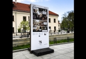 """Pokaż powiększenie powyżej: Wystawa """"Chleb wolnościowy"""", ul. Kołłątaja (Centrum Kultury)"""