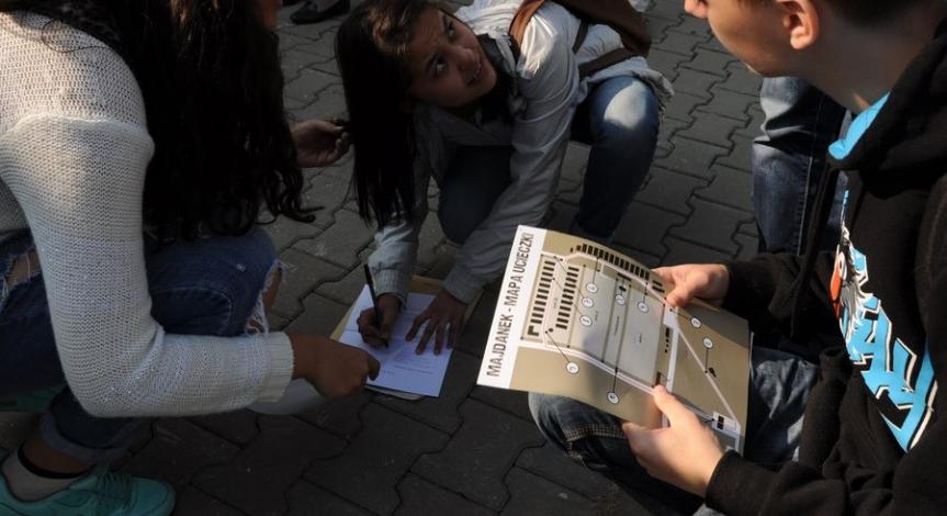 Powiększ obraz: Ucieczki z Majdanka. Projekt edukacyjny PMM i DDK Bronowice
