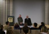 Pokaż powiększenie powyżej: Spotkanie młodzieży z Waltrop ze świadkiem historii