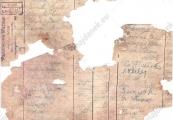Pokaż powiększenie powyżej: Strona zbiorczego wykazu wpłat z 28 marca 1943 r.