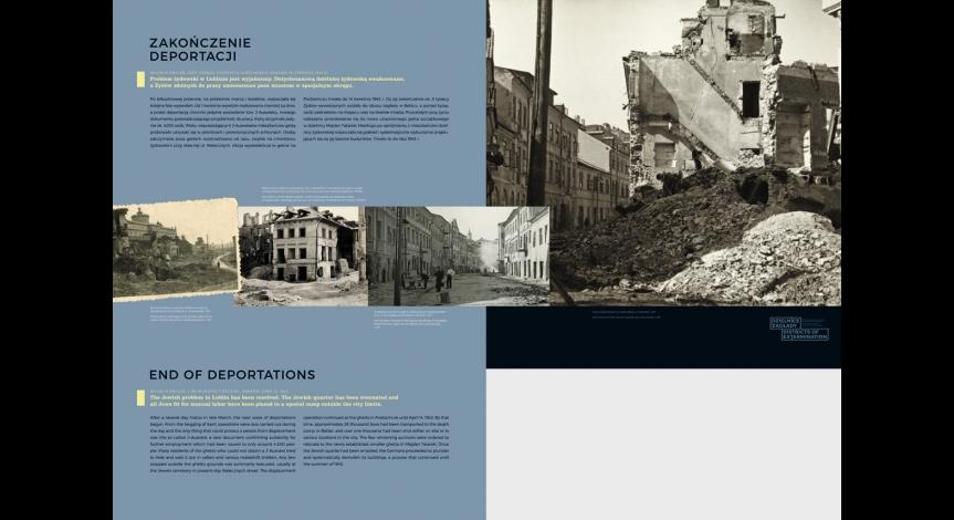 Zoom image: Districts of Extermination. Ghettos for Jews in German-occupied Lublin