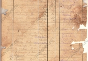 Pokaż powiększenie powyżej: Dokument z rejestracji Jana Jureckiego w obozie