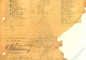 Pokaż powiększenie powyżej: Kartoteka odzieżowa Feliksa Łukasiewicza, 16 lutego 1943