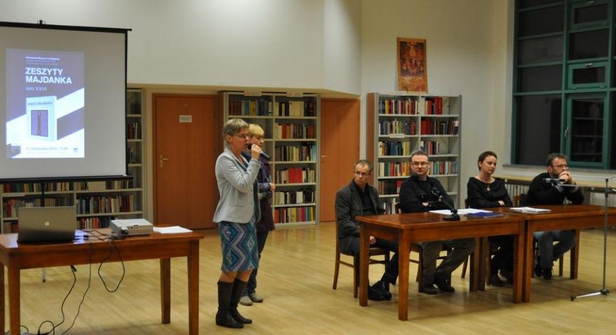 Powiększ obraz: Promocja 26. tomu Zeszytów Majdanka