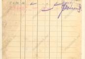 Pokaż powiększenie powyżej: Kartoteka pieniężna Józefa Czerwisińskiego, 9 czerwca 1942