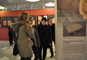 """Pokaż powiększenie powyżej: Otwarcie wystawy """"Błogosławieni z Majdanka – ks. Roman Archutowski i ks. Emilian Kowcz"""""""