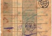 Pokaż powiększenie powyżej: 22 kwietnia 1944 r. poczta obozowa KL Lublin wysłała kilka przesyłek, przekazów pieniężnych i paczek z rzeczami wartościowymi.