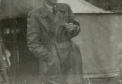 Pokaż powiększenie powyżej: Stefan Przesmycki podczas służby wojskowej w lotnictwie