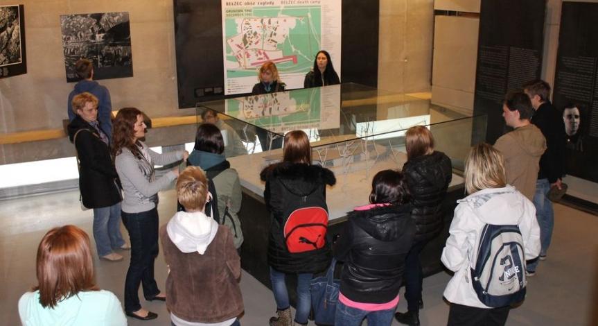 Powiększ obraz: Kolejna edycja workcampu w Muzeum – Miejscu Pamięci w Bełżcu