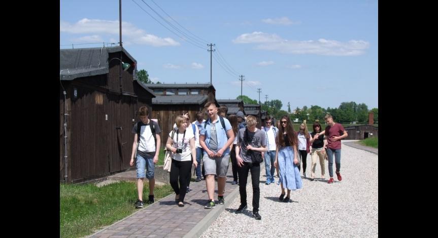 Powiększ obraz: Zajęcia edukacyjne dla uczniów Pallotyńskiego Gimnazjum w Lublinie