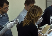 Pokaż powiększenie powyżej: Doktoranci Instytutu Historii UMCS na Majdanku