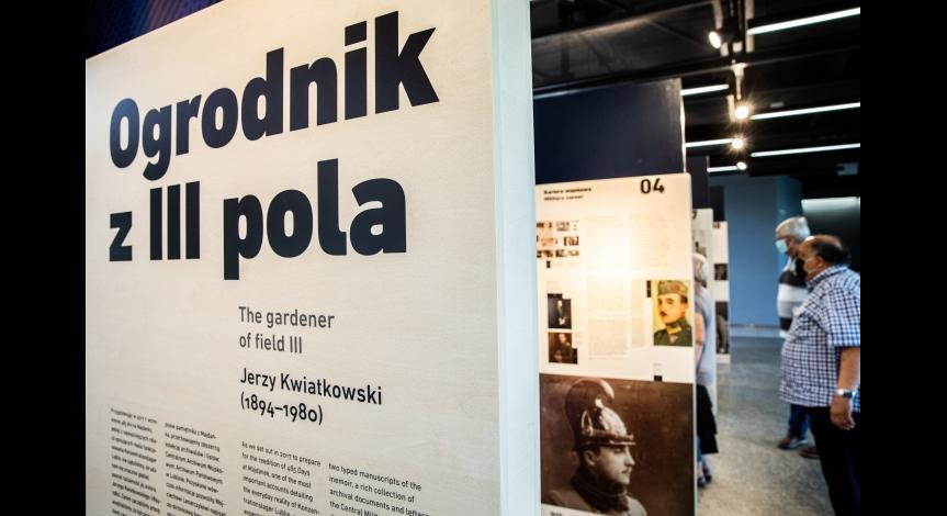 Powiększ obraz: OGRODNIK Z III POLA. JERZY KWIATKOWSKI (1894–1980)