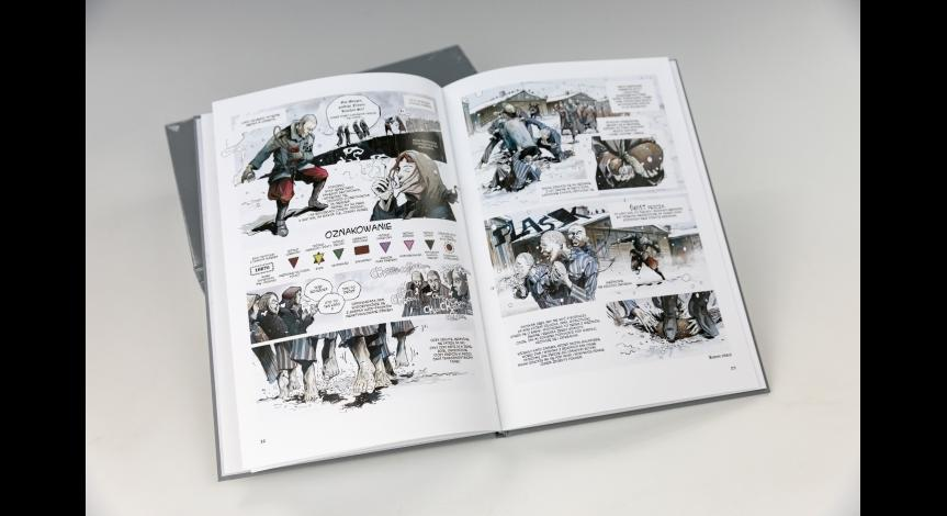 Powiększ obraz: <i>Chleb wolnościowy</i> – komiks o więźniach Majdanka