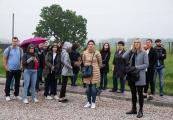 Pokaż powiększenie powyżej: Przedstawiciele wymiaru sprawiedliwości odwiedzili muzeum