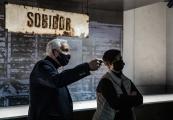 Pokaż powiększenie powyżej: Wizyta delegacji Ministerstwa Kultury, Dziedzictwa Narodowego i Sportu w Sobiborze