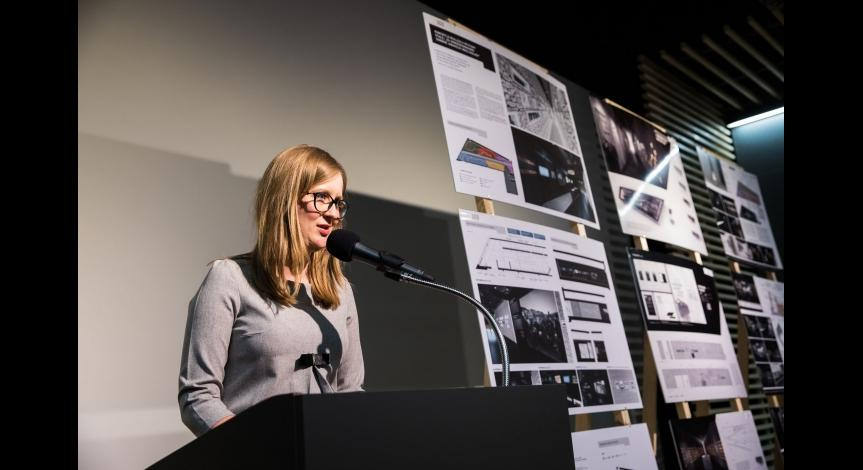 Zoom image: Announcement of results of the design competition on the exhibition in Sobibór