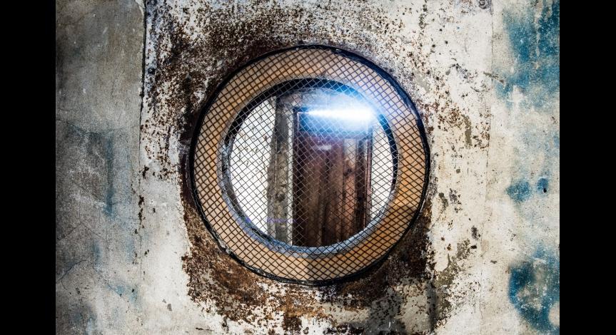 Powiększ obraz: Remont baraku łaźni męskiej i komór gazowych