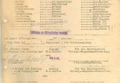 Pokaż powiększenie powyżej: Formularz sporządzony techniką powielaczową używany od wiosny 1943 r.
