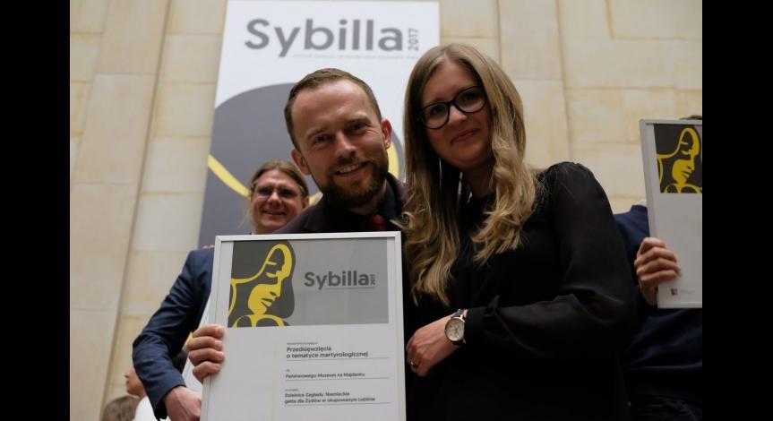 Powiększ obraz: Muzeum laureatem Sybilli 2017