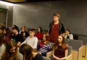 Pokaż powiększenie powyżej: Spotkanie ze Zdzisławem Badio - byłym więźniem Majdanka