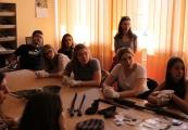 Pokaż powiększenie powyżej: Uczniowie I LO w Muzeum na Majdanku