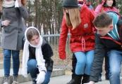 Pokaż powiększenie powyżej: Młodzież z Ukrainy upamiętniła pomordowanych Żydów