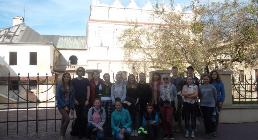 Powiększ obraz: Warsztaty historyczne dla młodzieży z Ukrainy