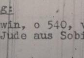Pokaż powiększenie powyżej: 8. Fragment meldunku Komendantury Policji Porządkowej w dystrykcie lubelskim z 1.11.1943 r. do Dowódcy Policji Porządkowej w Krakowie