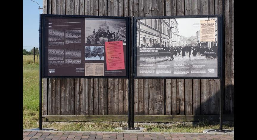 "Zoom image: Exhibition ""They Arrived at the Ghetto... And Went into the Unknown..."""