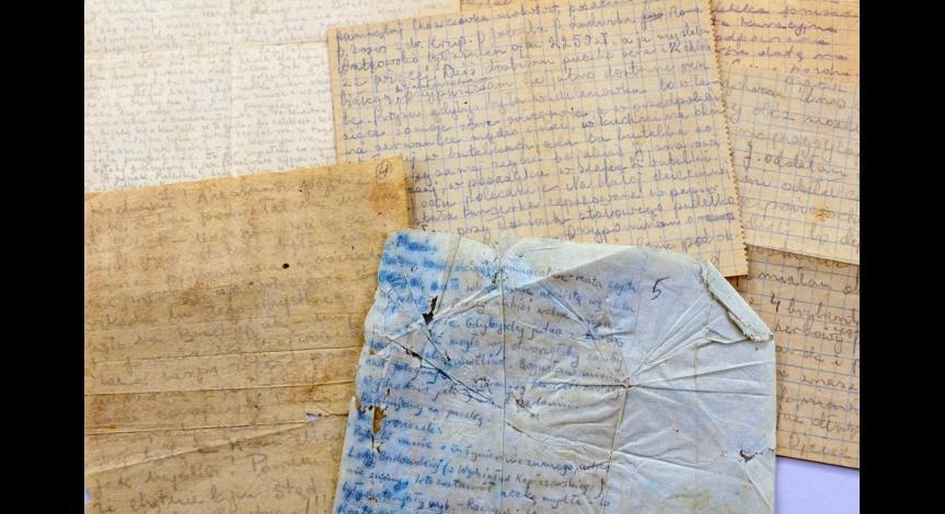 Powiększ obraz: Grypsy – nielegalna korespondencja więźniów z bliskimi