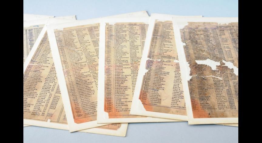 Powiększ obraz: Dokumenty kancelarii KL Lublin