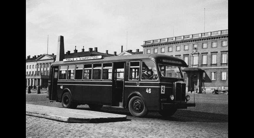 Autobus Bussing IV NAG - pojazd kolumny