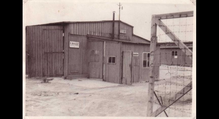 Baraki 1 i 2 z III pola - miejsce, gdzie przetrzymywani byli przez NKWD żołnierze AK