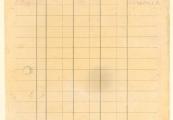 Pokaż powiększenie powyżej: 11. Kartoteka pieniężna więźniarki Katarzyny Buczek z Bidaczowa