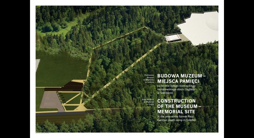 Powiększ obraz: Tablice informacyjne w Sobiborze