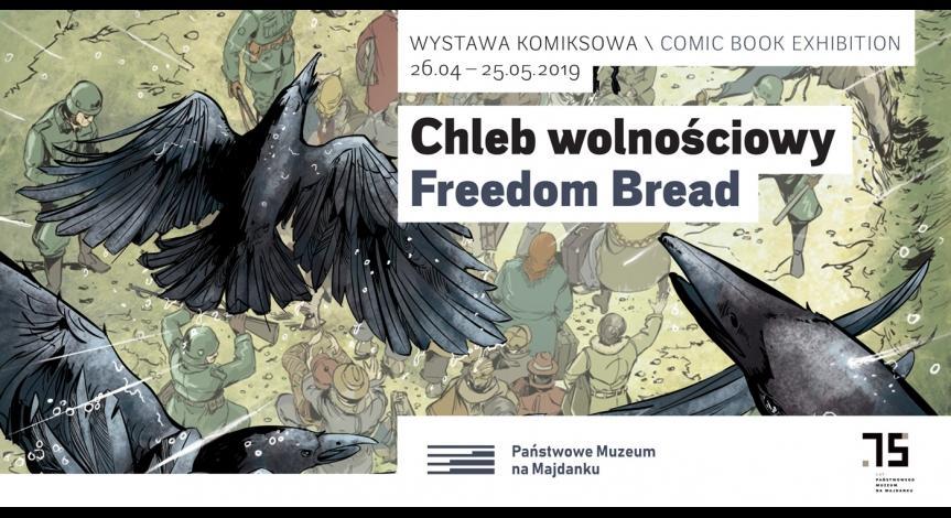 """Powiększ obraz: Wystawa """"Chleb wolnościowy"""""""