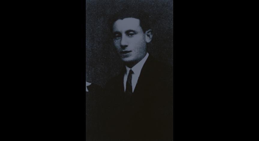 Lejba (Leon) Felhendler before 1939 / YV