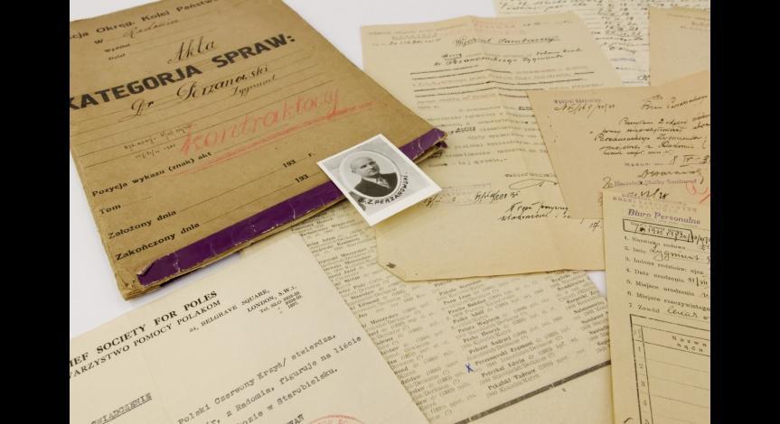 Powiększ obraz: Dokumenty osobiste Zygmunta Perzanowskiego