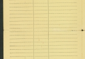 Pokaż powiększenie powyżej: Fot.15. Dokument upoważniający Moritza Krala do poboru odzieży roboczej, narzędzi pracy itp.