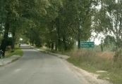 Pokaż powiększenie powyżej: Drogowskaz na trasie Lublin - Krężnica Jara