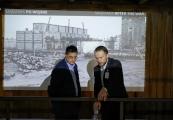 Pokaż powiększenie powyżej: Oprowadzanie gości z Instytutu Hoovera po terenie Muzeum