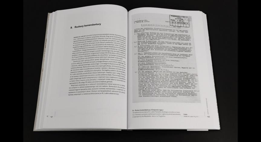 """Powiększ obraz: """"Majdanek w dokumentach"""" – pierwsza edycja źródeł do dziejów obozu koncentracyjnego"""