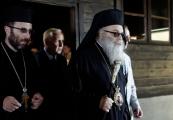 Pokaż powiększenie powyżej: Patriarcha Antiochii z wizytą na Majdanku