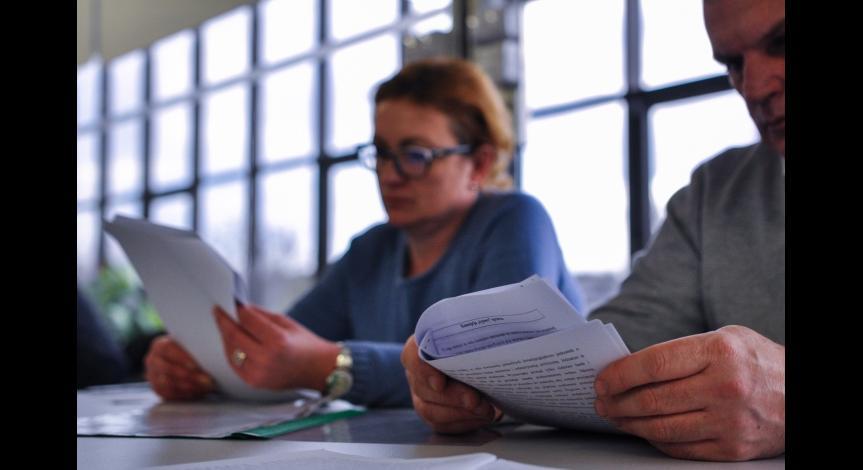Zoom image: Workshops for prison officers