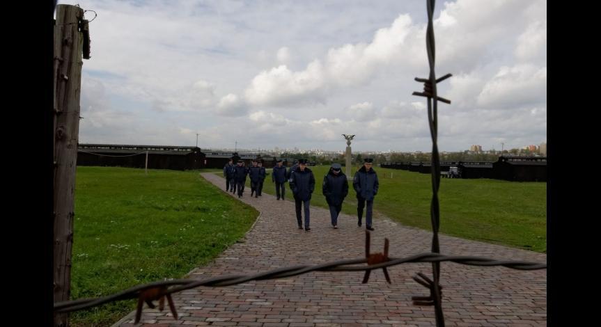 Powiększ obraz: Zajęcia dla funkcjonariuszy Okręgowego Inspektoratu Służby Więziennej w Lublinie