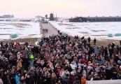 Pokaż powiększenie powyżej: Droga krzyżowa na Majdanku