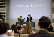 Pokaż powiększenie powyżej: Spotkanie z Wandą Lotter
