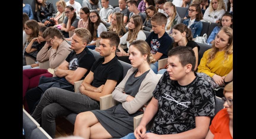 Powiększ obraz: Spotkanie z byłą więźniarką KL Lublin Janiną Mielniczuk, 16 czerwca 2018
